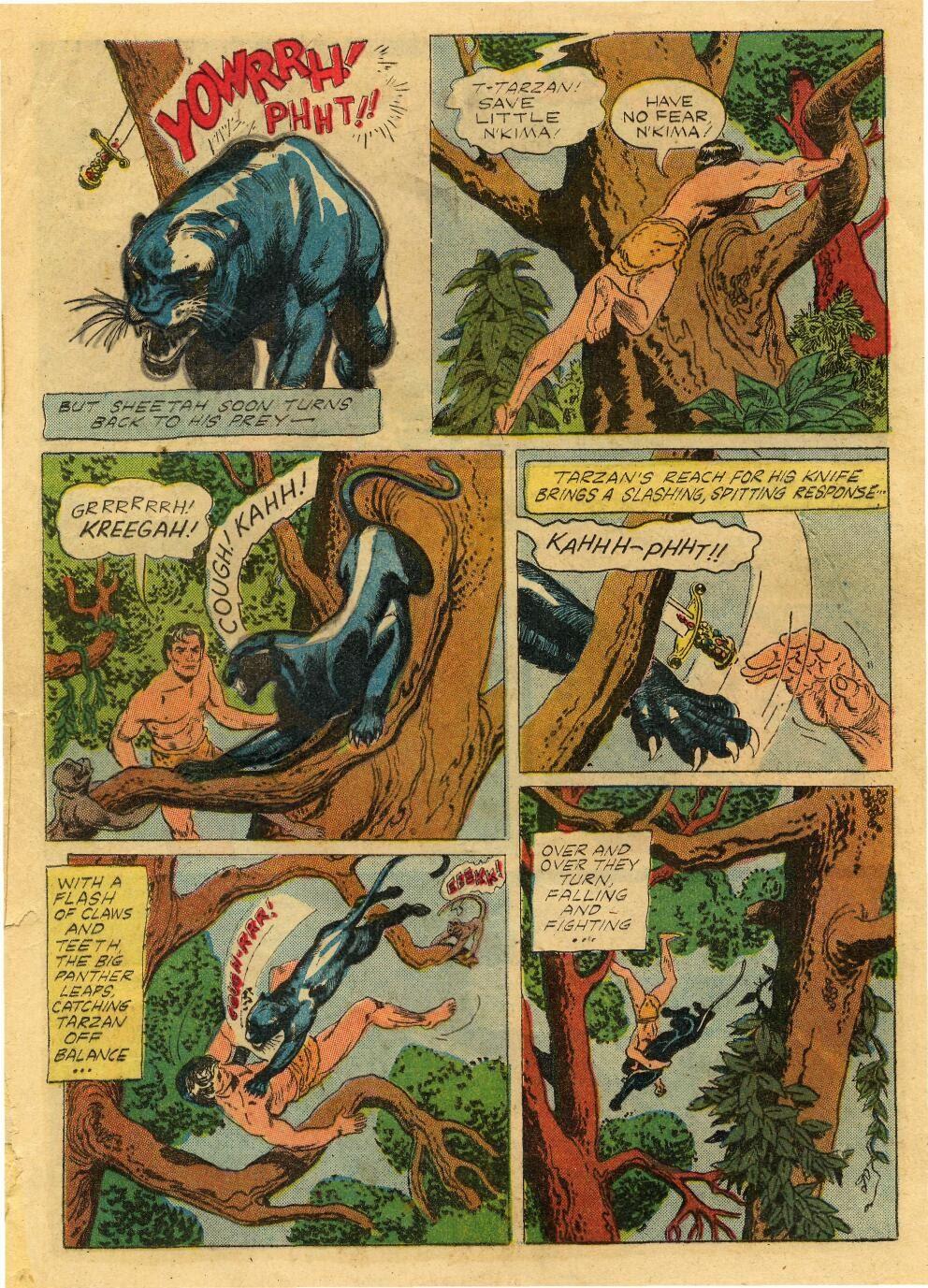 Tarzan (1948) issue 76 - Page 20