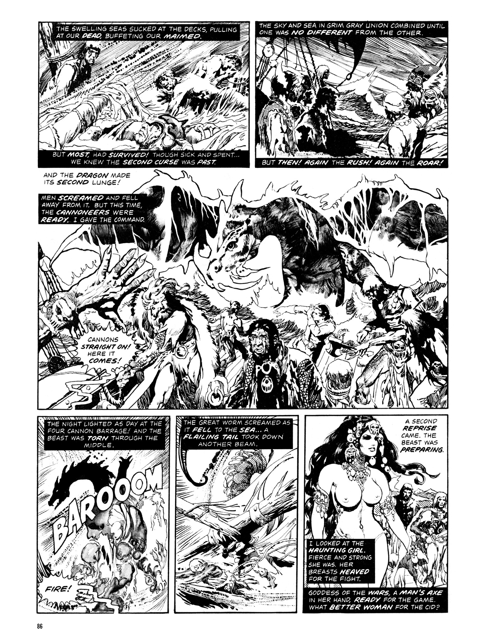 Read online Eerie Archives comic -  Issue # TPB 14 - 87
