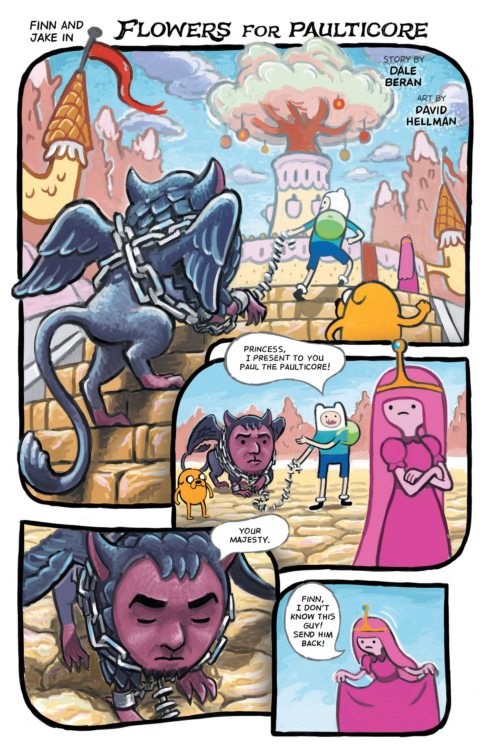 Read online Adventure Time comic -  Issue #48 - 21