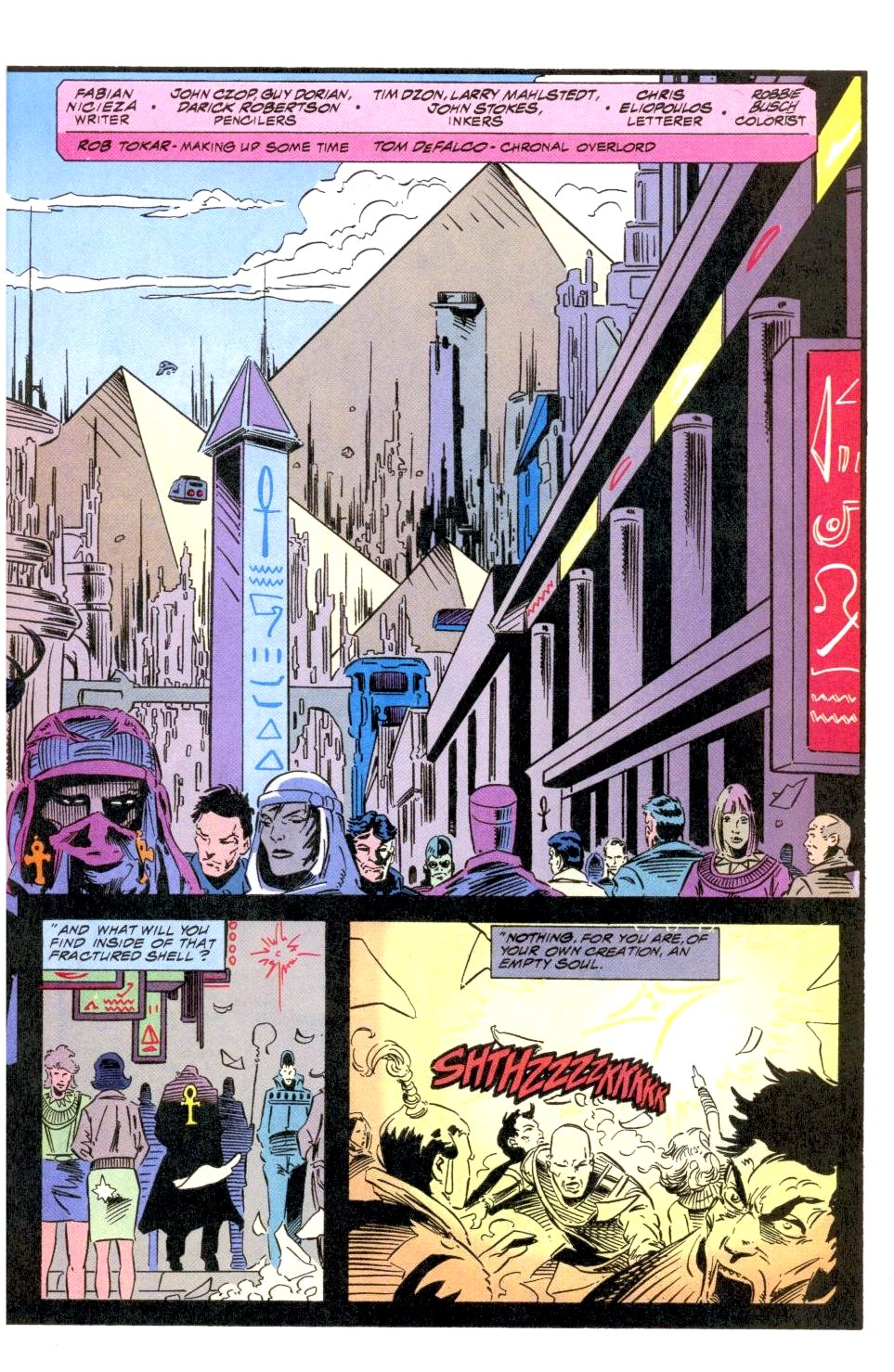 The New Warriors Issue #49 #53 - English 4