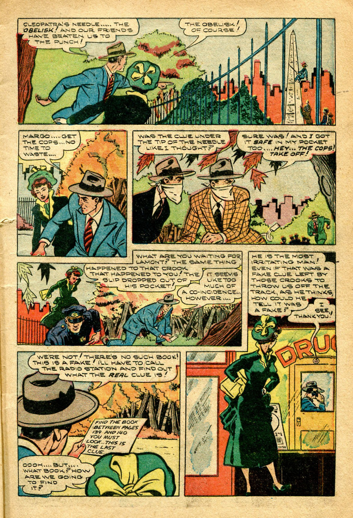 Read online Shadow Comics comic -  Issue #96 - 11