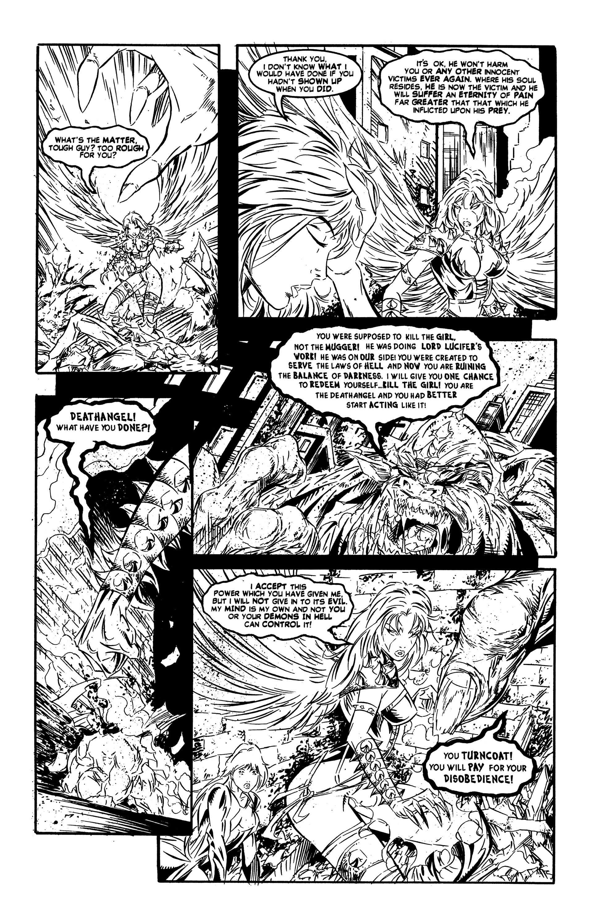Read online DeathAngel comic -  Issue # Full - 17