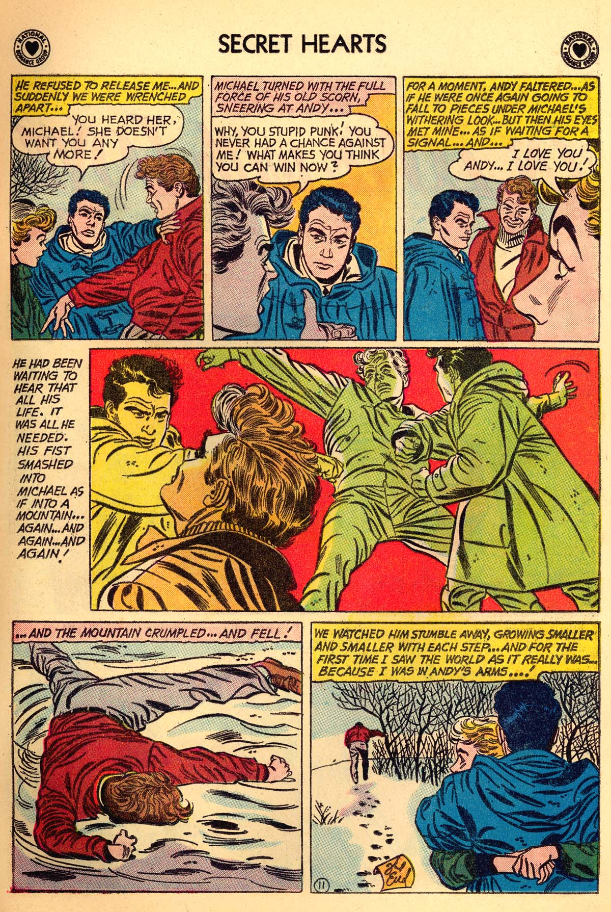 Read online Secret Hearts comic -  Issue #66 - 13