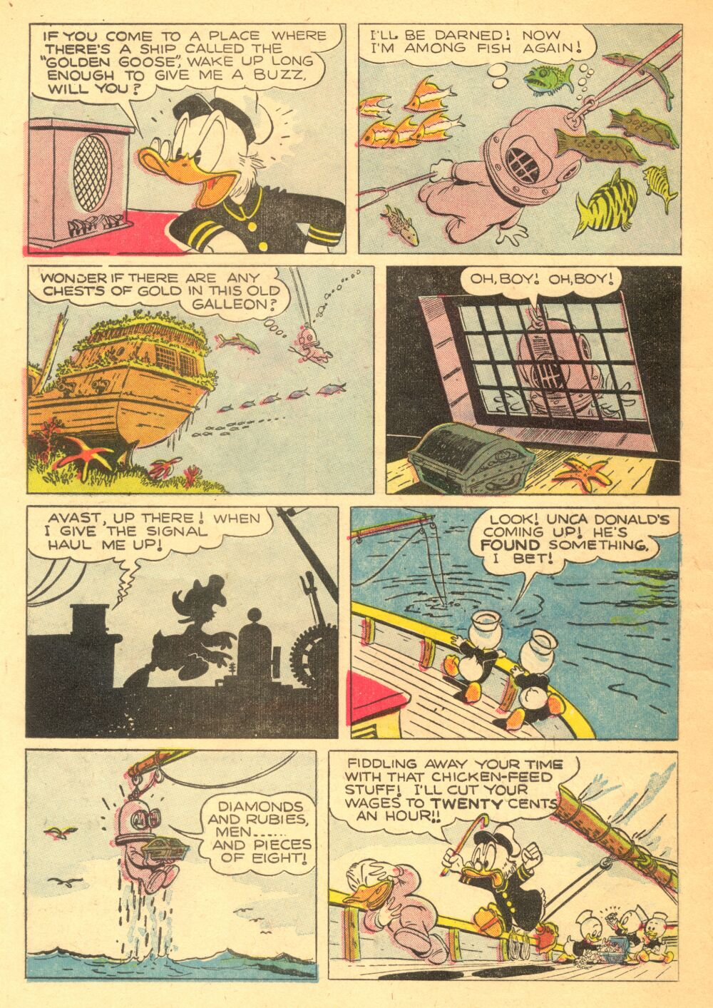 Read online Uncle Scrooge (1953) comic -  Issue #3 - 10
