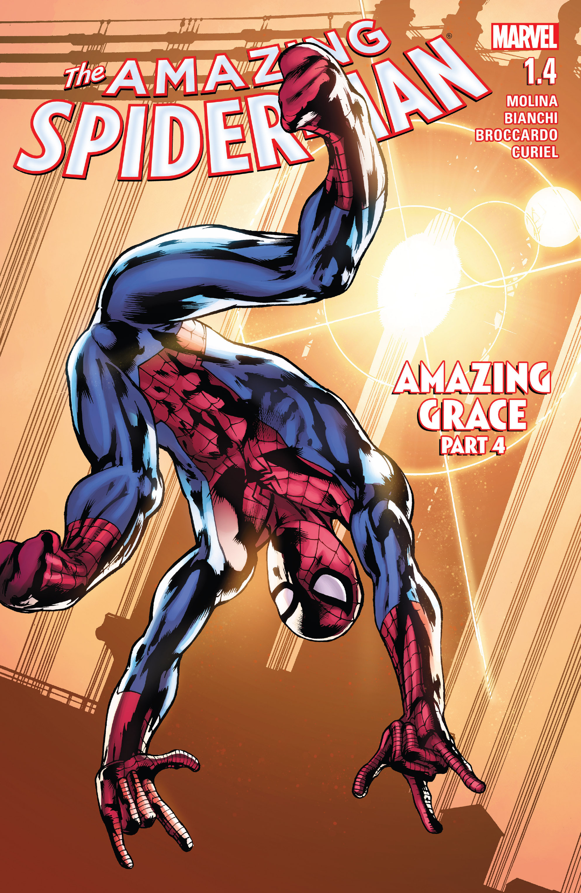 The Amazing Spider-Man (2015) 1.4 Page 1