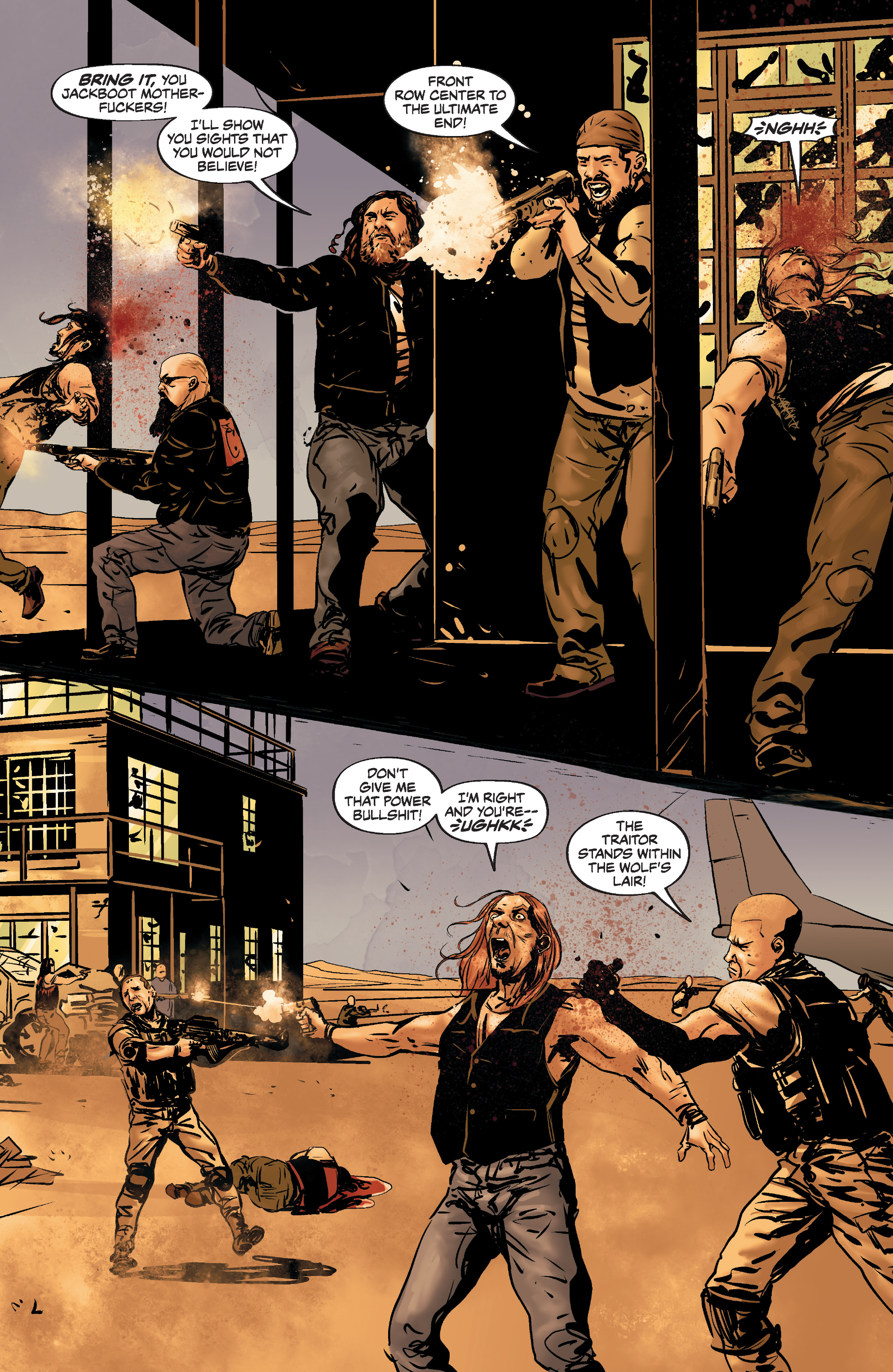 Read online Slayer: Repentless comic -  Issue #3 - 9