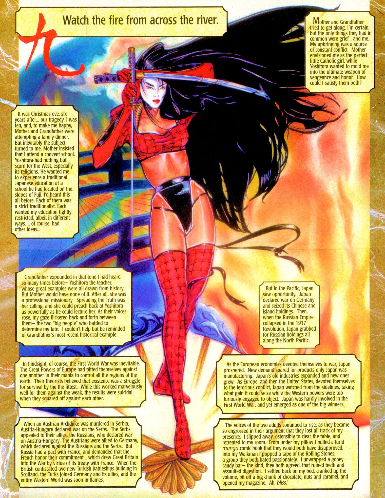 Read online Shi: Senryaku comic -  Issue #1 - 14