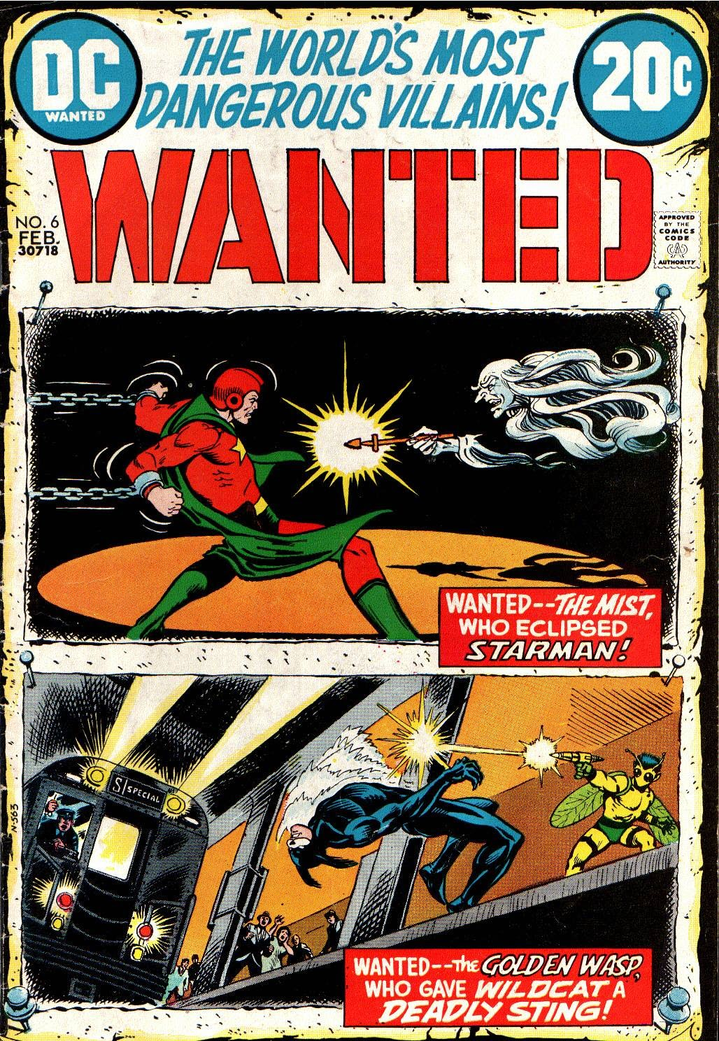 Wanted, the World's Most Dangerous Villains issue 6 - Page 1