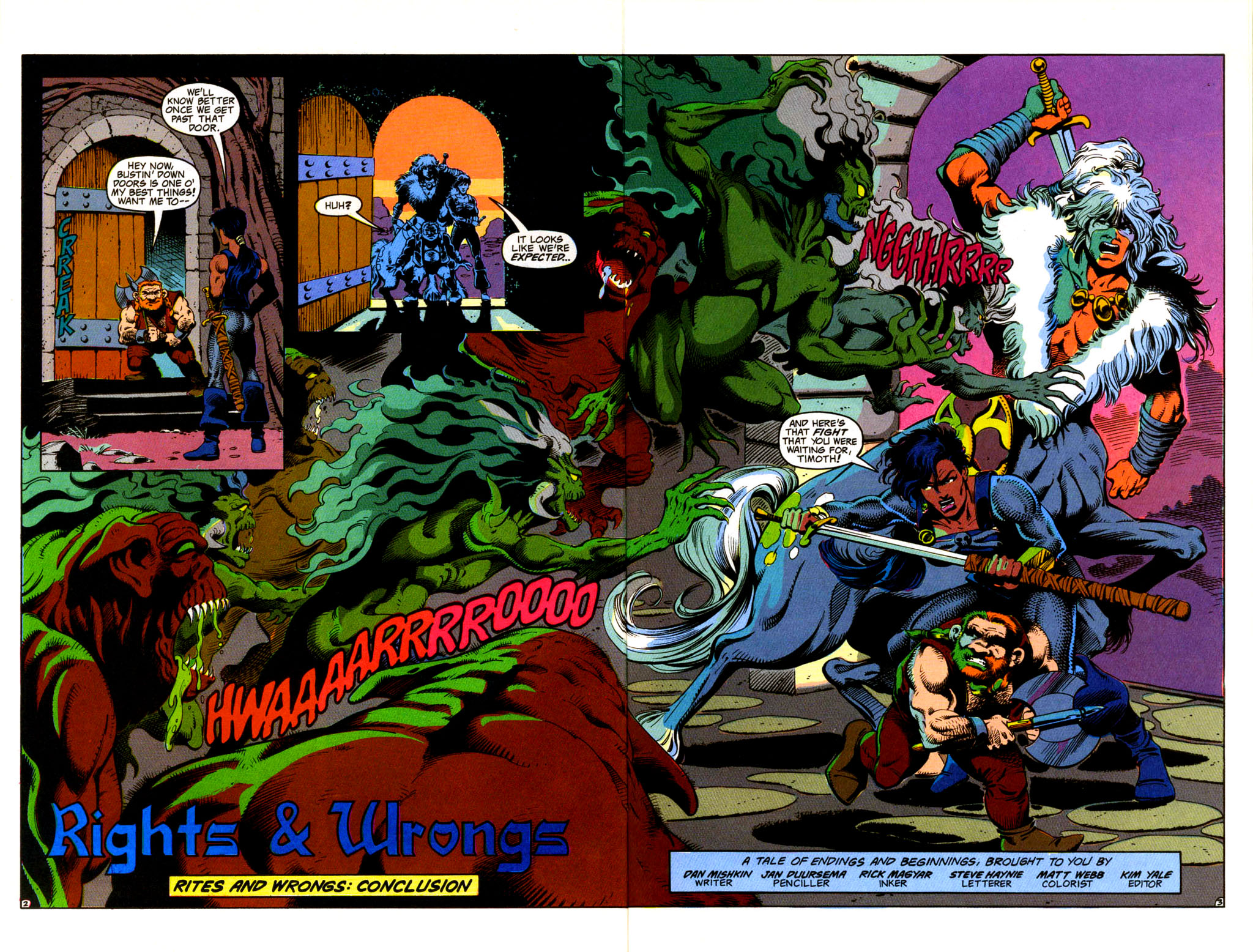 Read online Advanced Dungeons & Dragons comic -  Issue #36 - 3