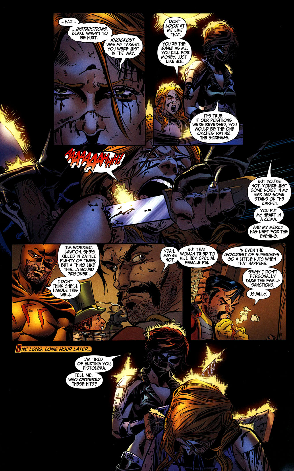 Read online Secret Six (2006) comic -  Issue #2 - 12