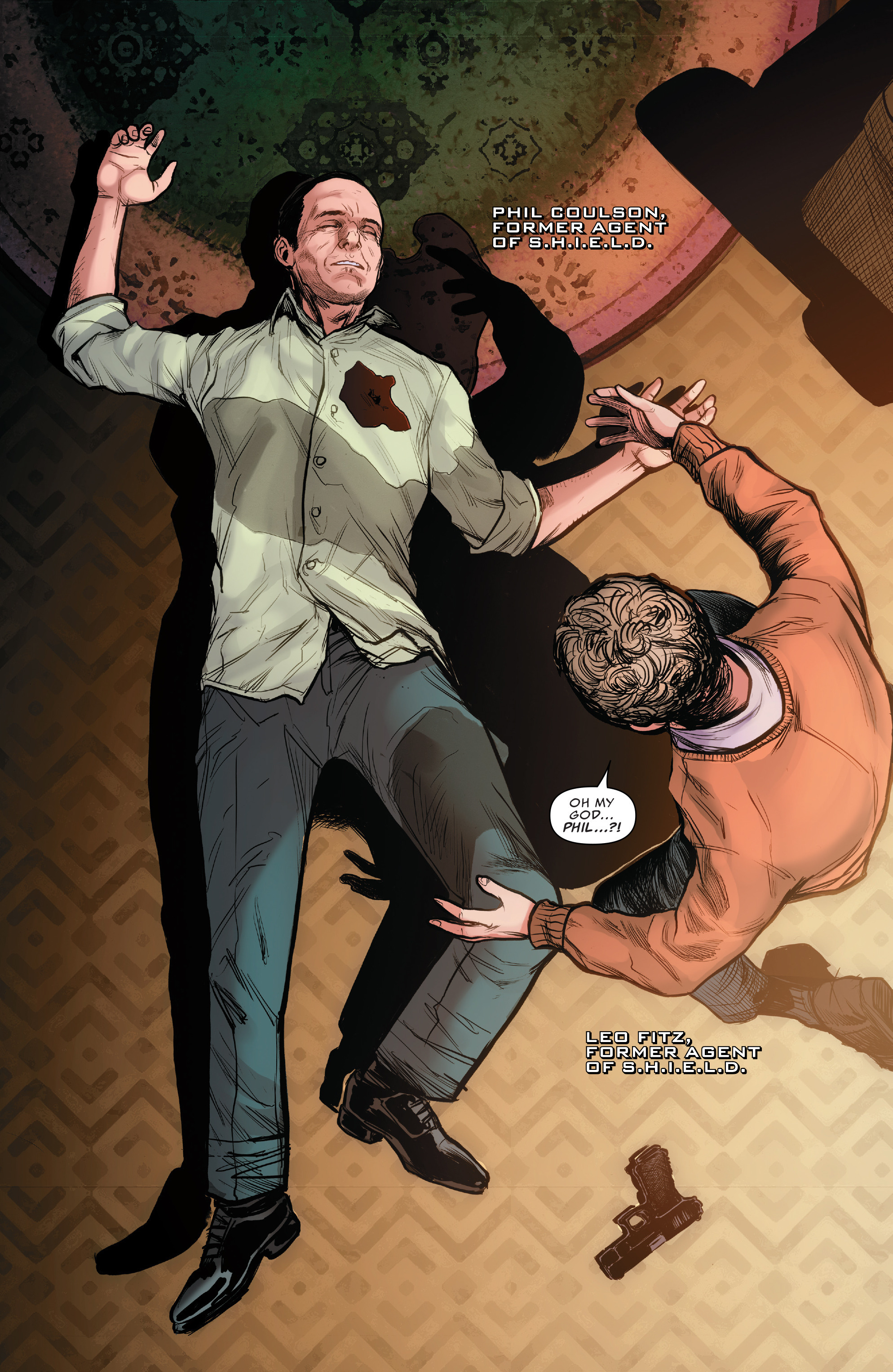 Read online Agents of S.H.I.E.L.D. comic -  Issue #10 - 2
