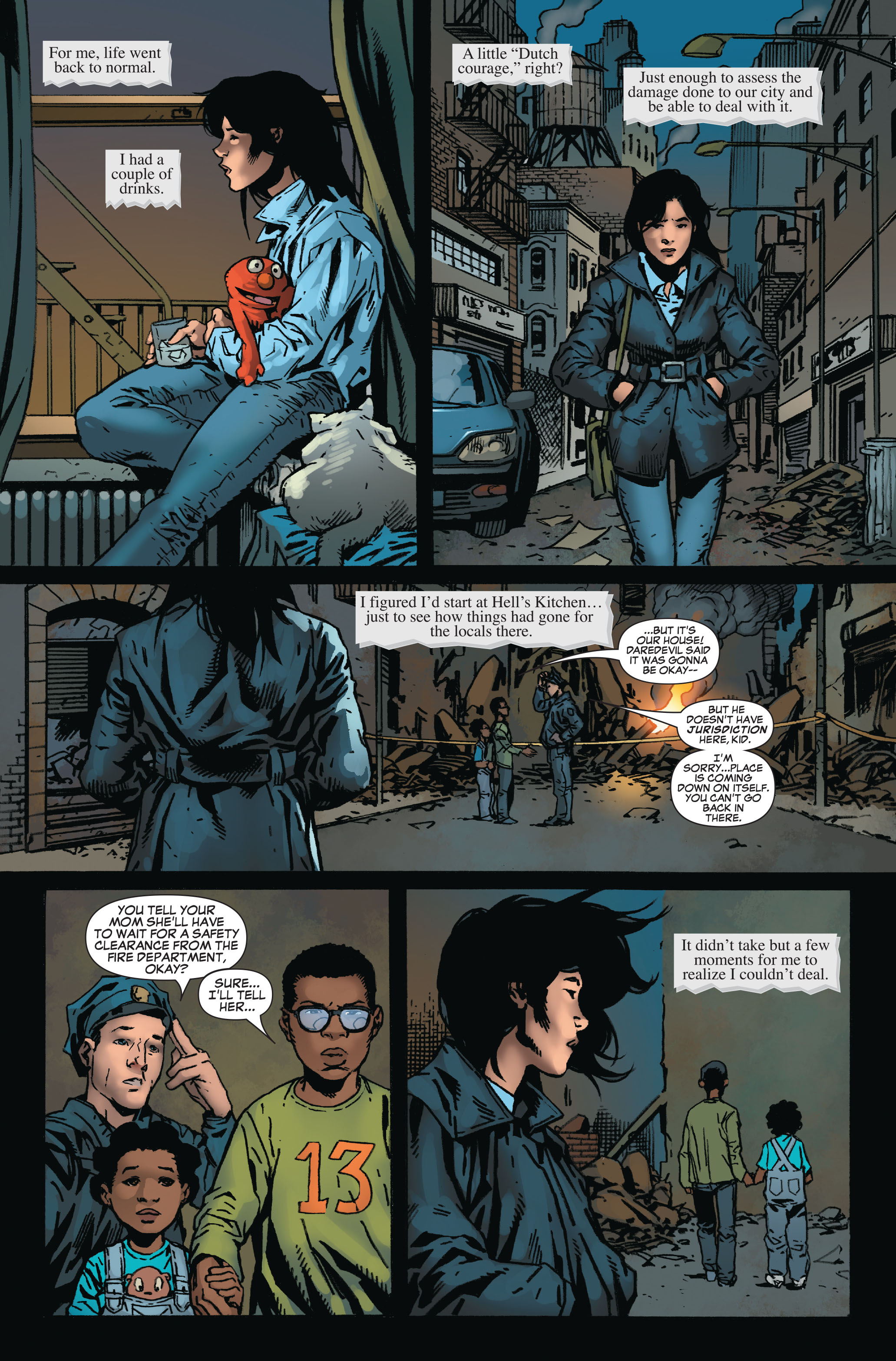 Read online World War Hulk: Front Line comic -  Issue #6 - 16