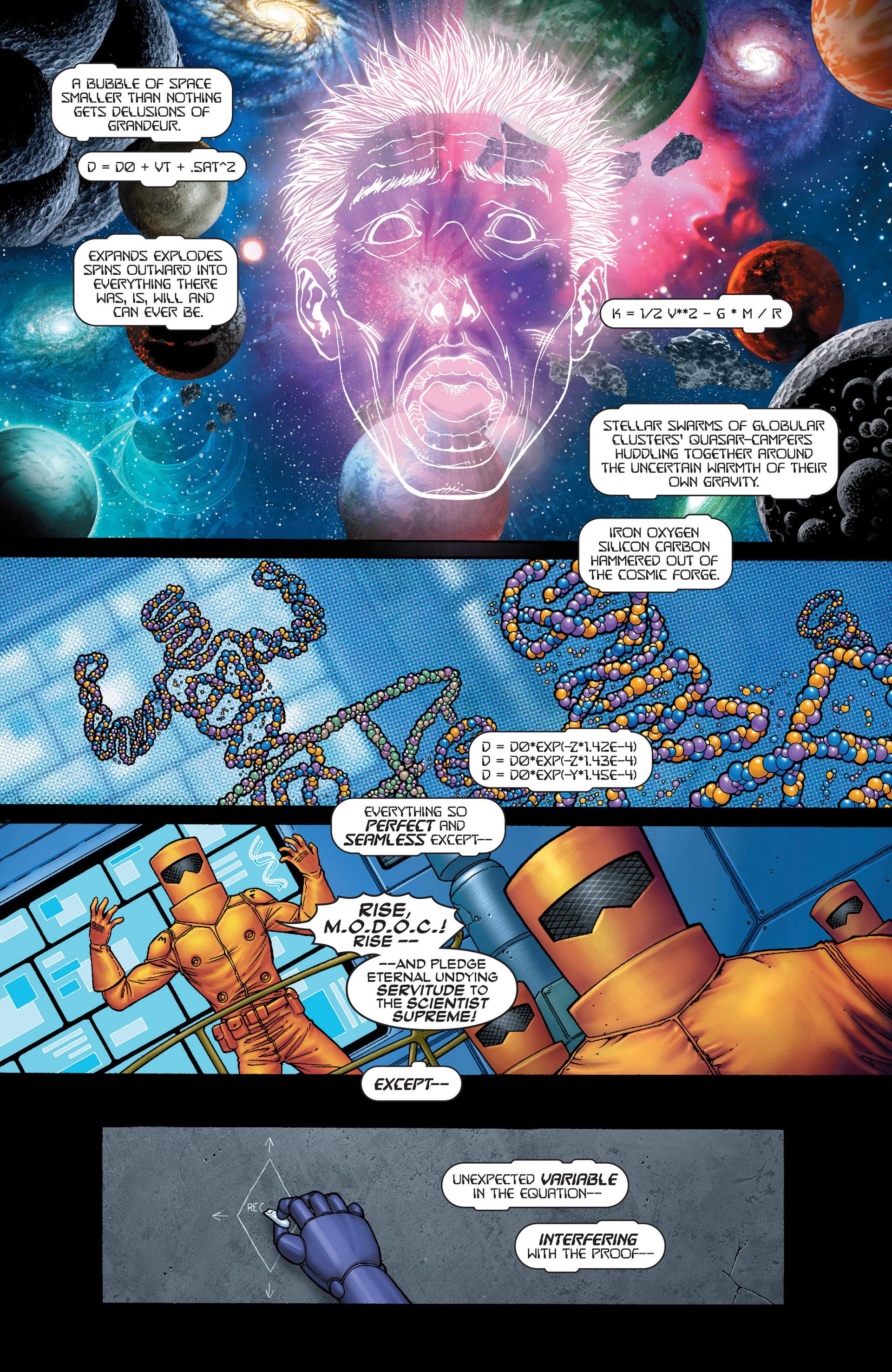 Read online Super-Villain Team-Up/MODOK's 11 comic -  Issue #1 - 4
