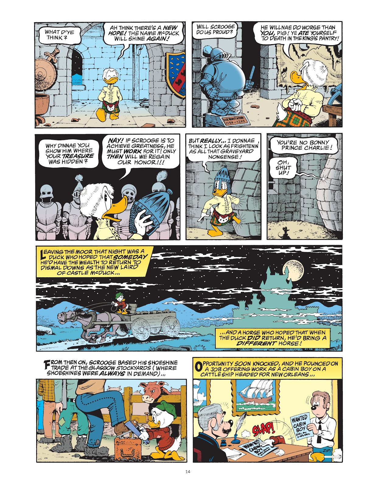 Read online The Complete Life and Times of Scrooge McDuck comic -  Issue # TPB 1 (Part 1) - 22