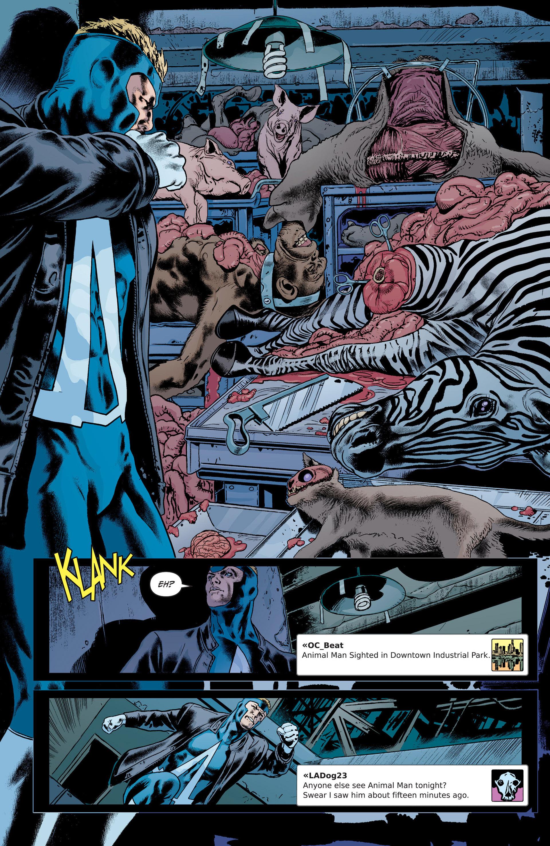 Read online Animal Man (2011) comic -  Issue #21 - 15