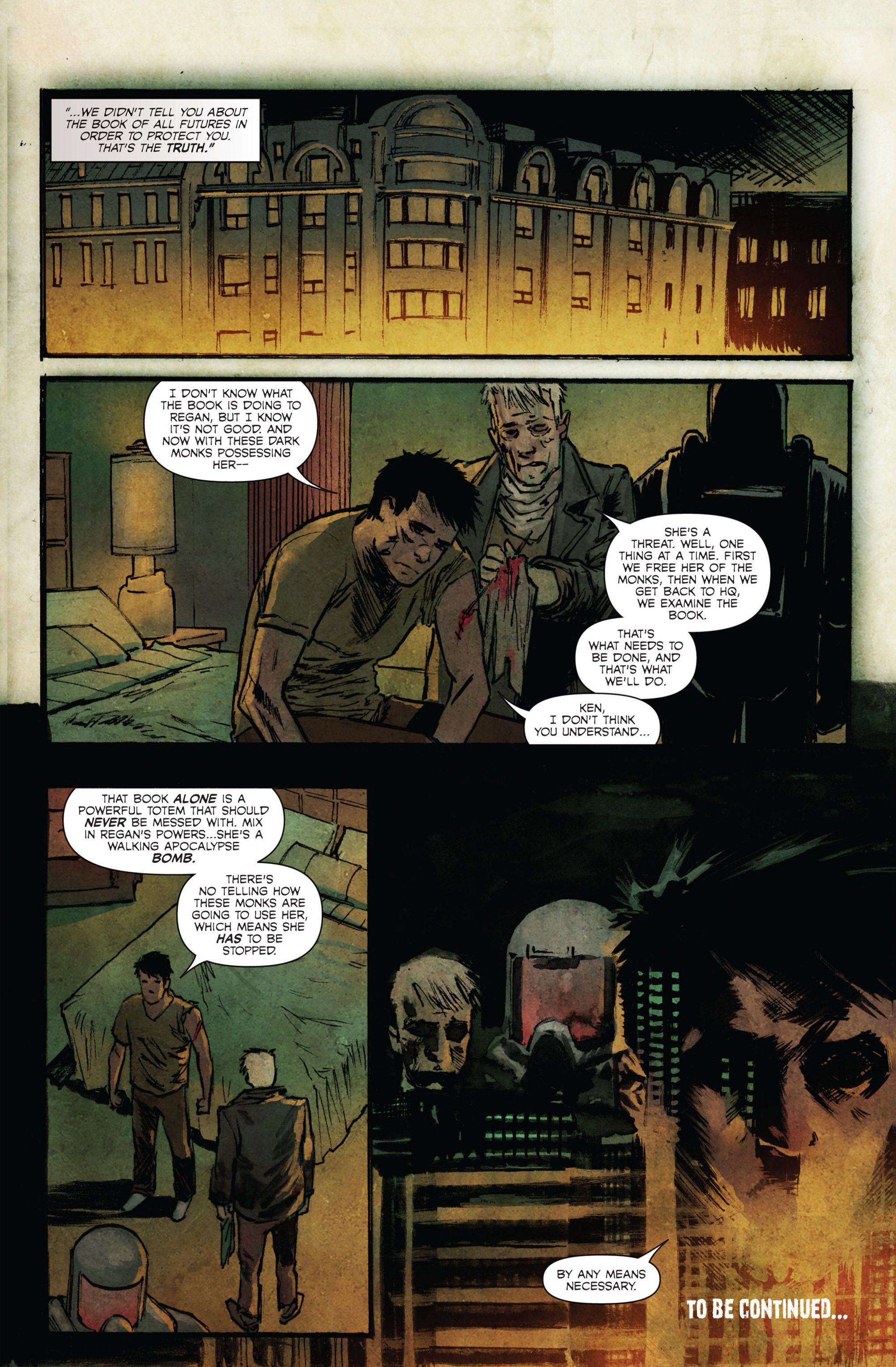Read online Hoax Hunters (2015) comic -  Issue #4 - 24