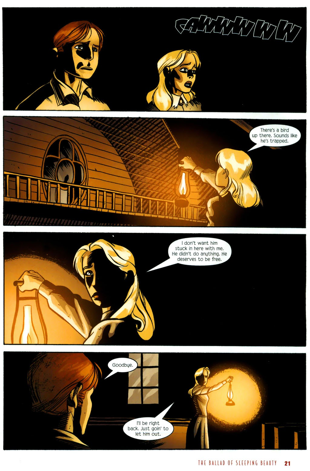 Read online The Ballad of Sleeping Beauty comic -  Issue #6 - 23