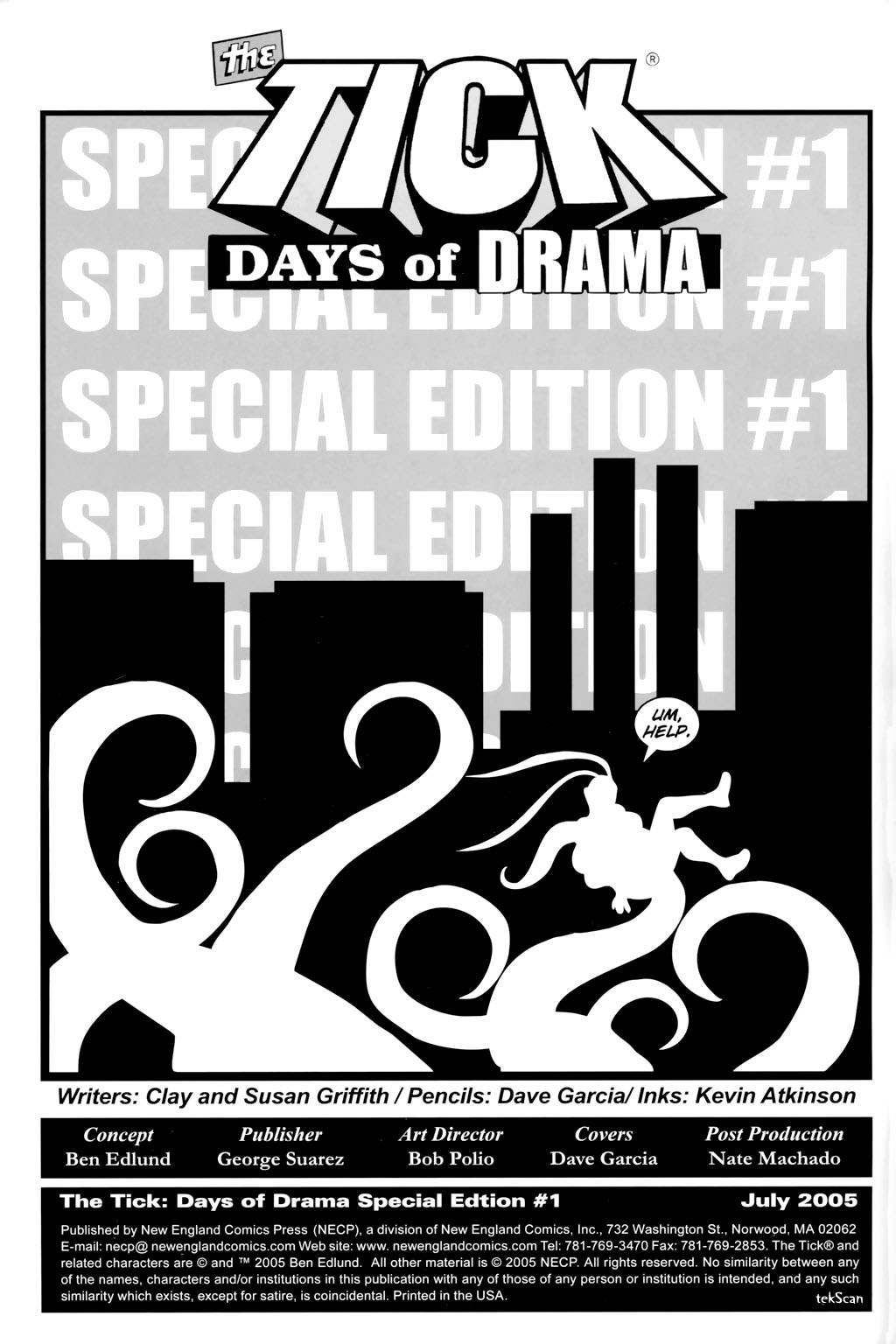 Read online The Tick: Days of Drama comic -  Issue #1 - 4