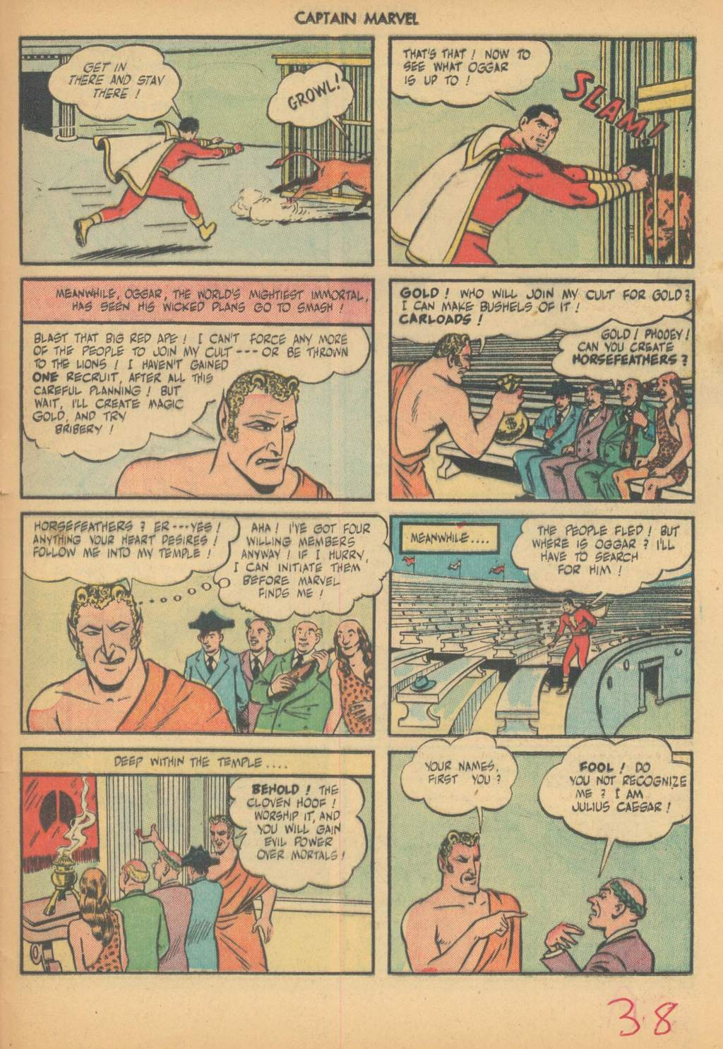 Captain Marvel Adventures issue 63 - Page 41