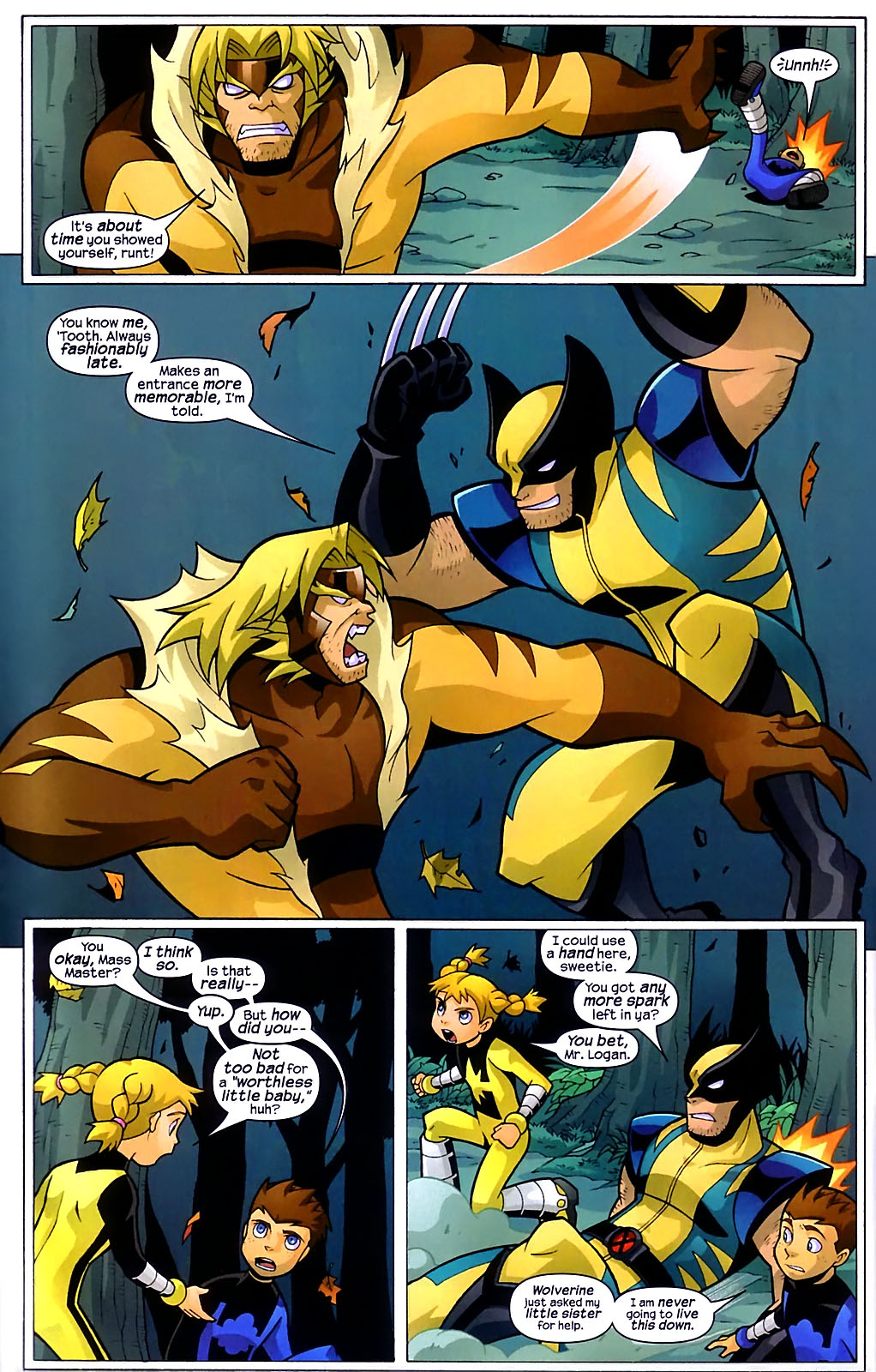 Read online X-Men and Power Pack comic -  Issue #1 - 19