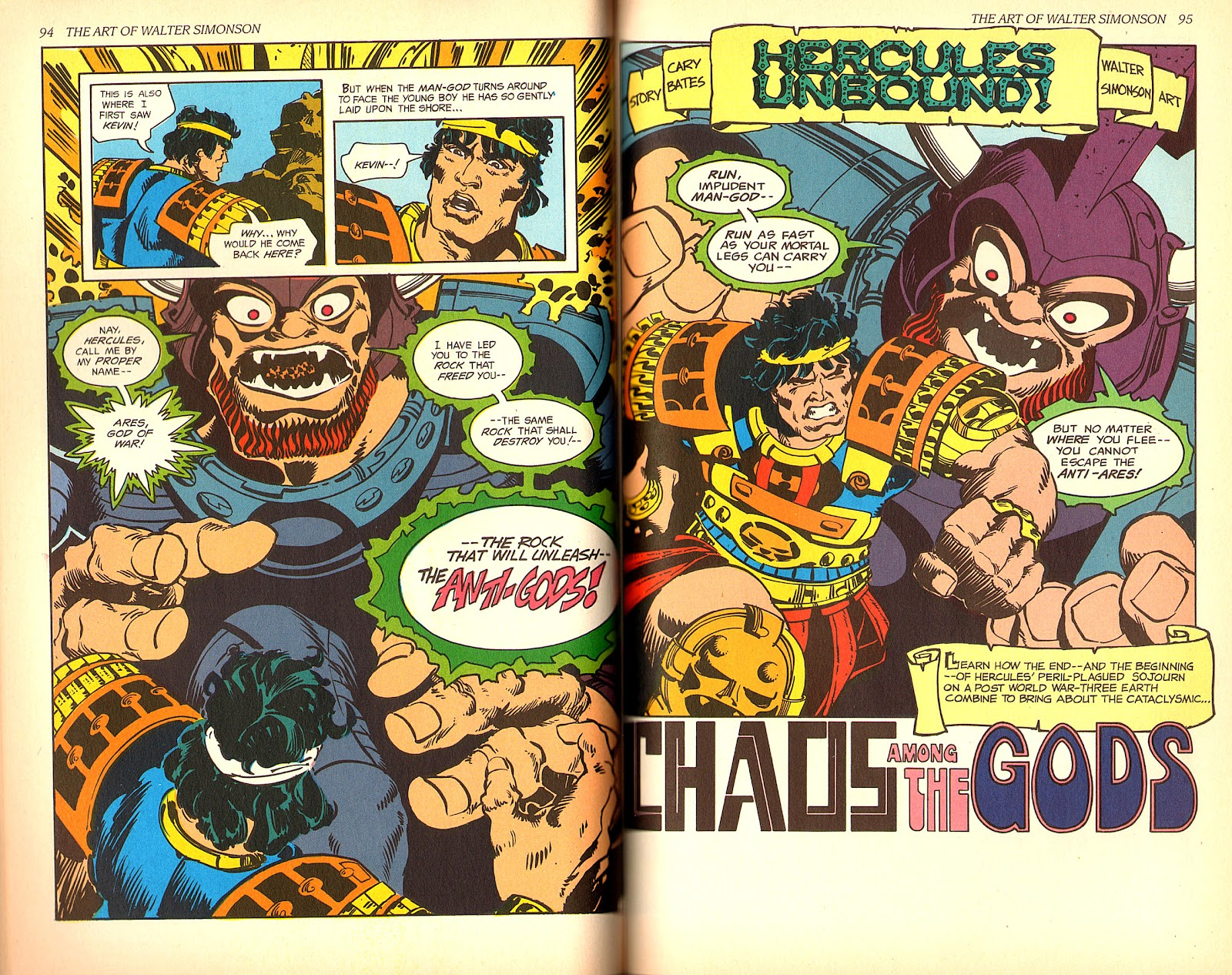 Read online The Art of Walter Simonson comic -  Issue # TPB - 49