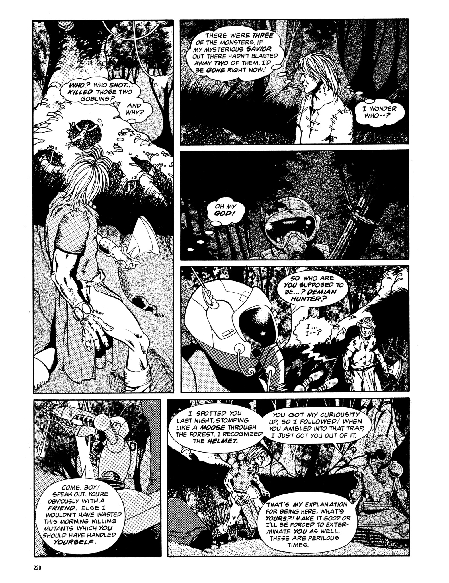 Read online Eerie Archives comic -  Issue # TPB 14 - 221