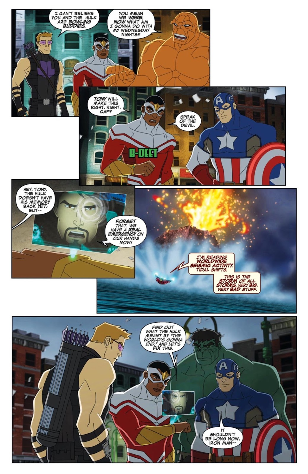 Read online Marvel Universe Avengers Assemble Season 2 comic -  Issue #3 - 7