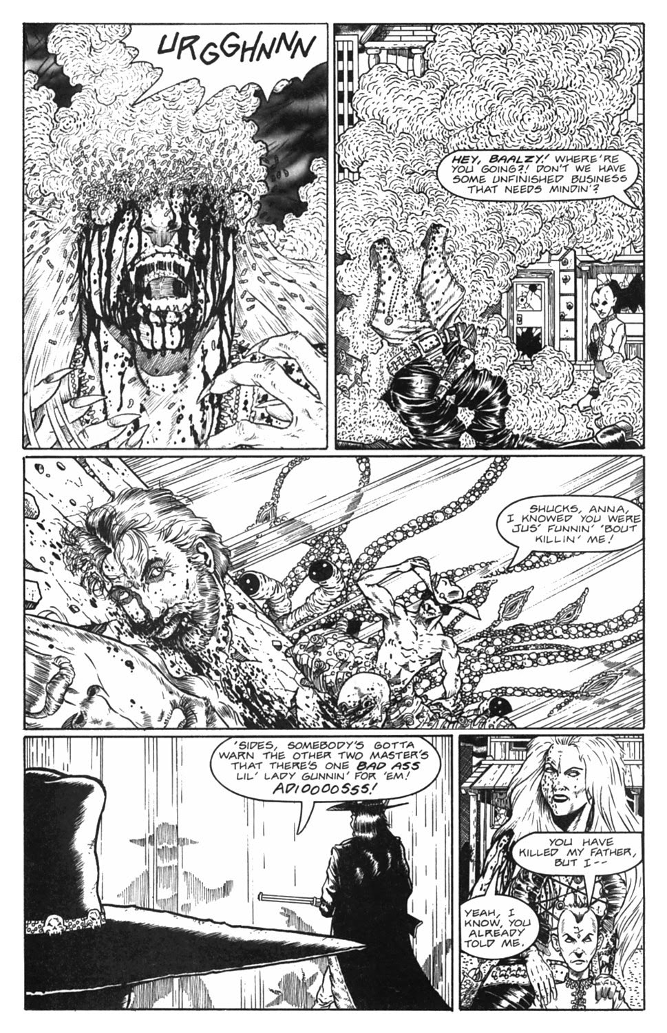 Read online Gunfighters in Hell comic -  Issue #5 - 35