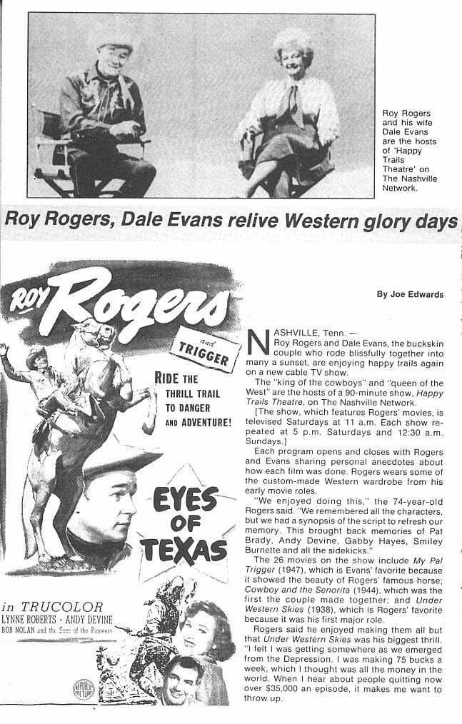 Read online Roy Rogers comic -  Issue #3 - 41