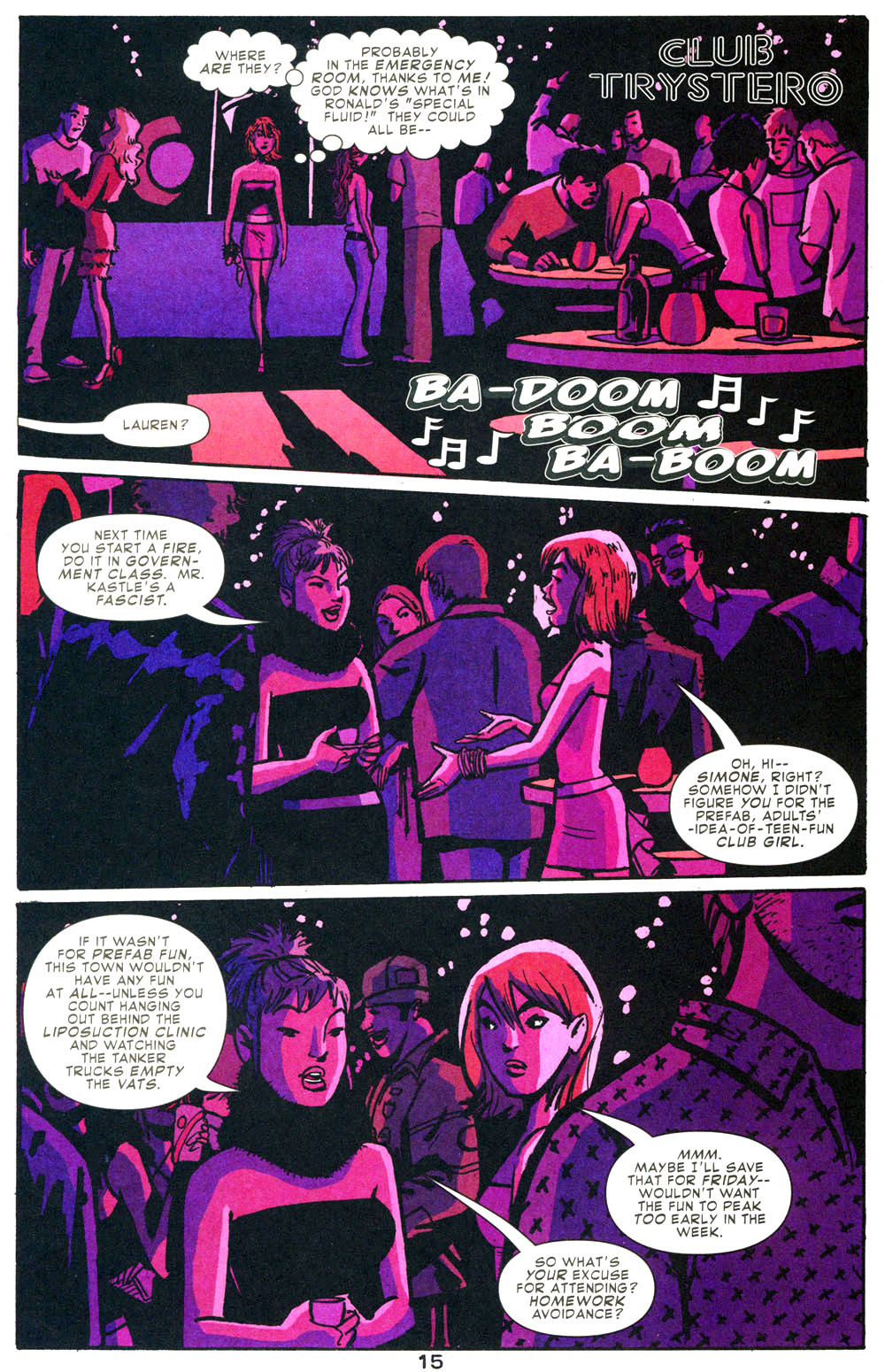 Read online Bad Girls comic -  Issue #1 - 16