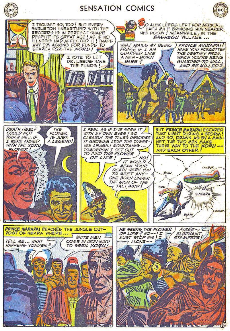 Read online Sensation (Mystery) Comics comic -  Issue #108 - 27