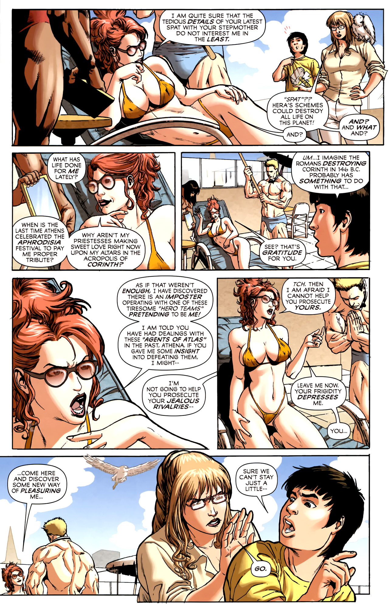 Read online Assault on New Olympus Prologue comic -  Issue #Assault on New Olympus Prologue Full - 6