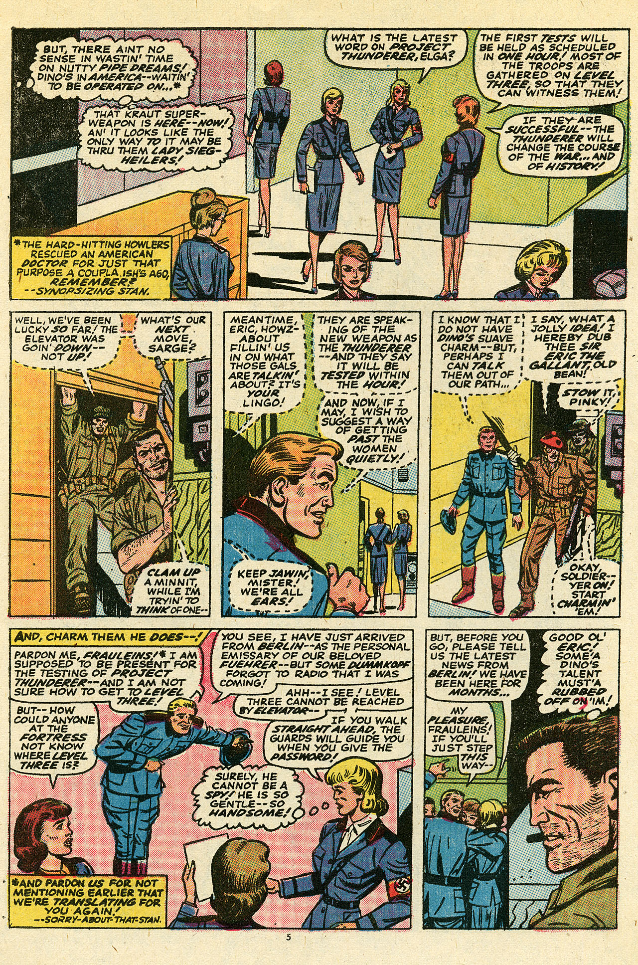 Read online Sgt. Fury comic -  Issue #111 - 7