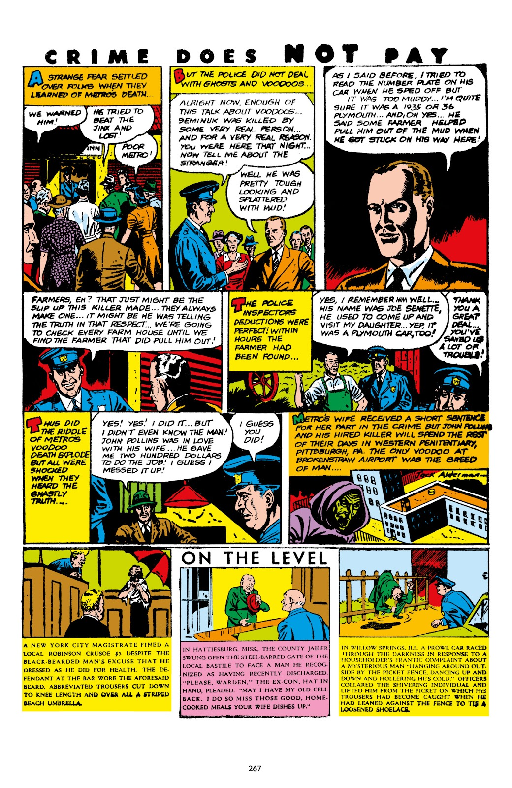 Read online Crime Does Not Pay Archives comic -  Issue # TPB 7 (Part 3) - 68
