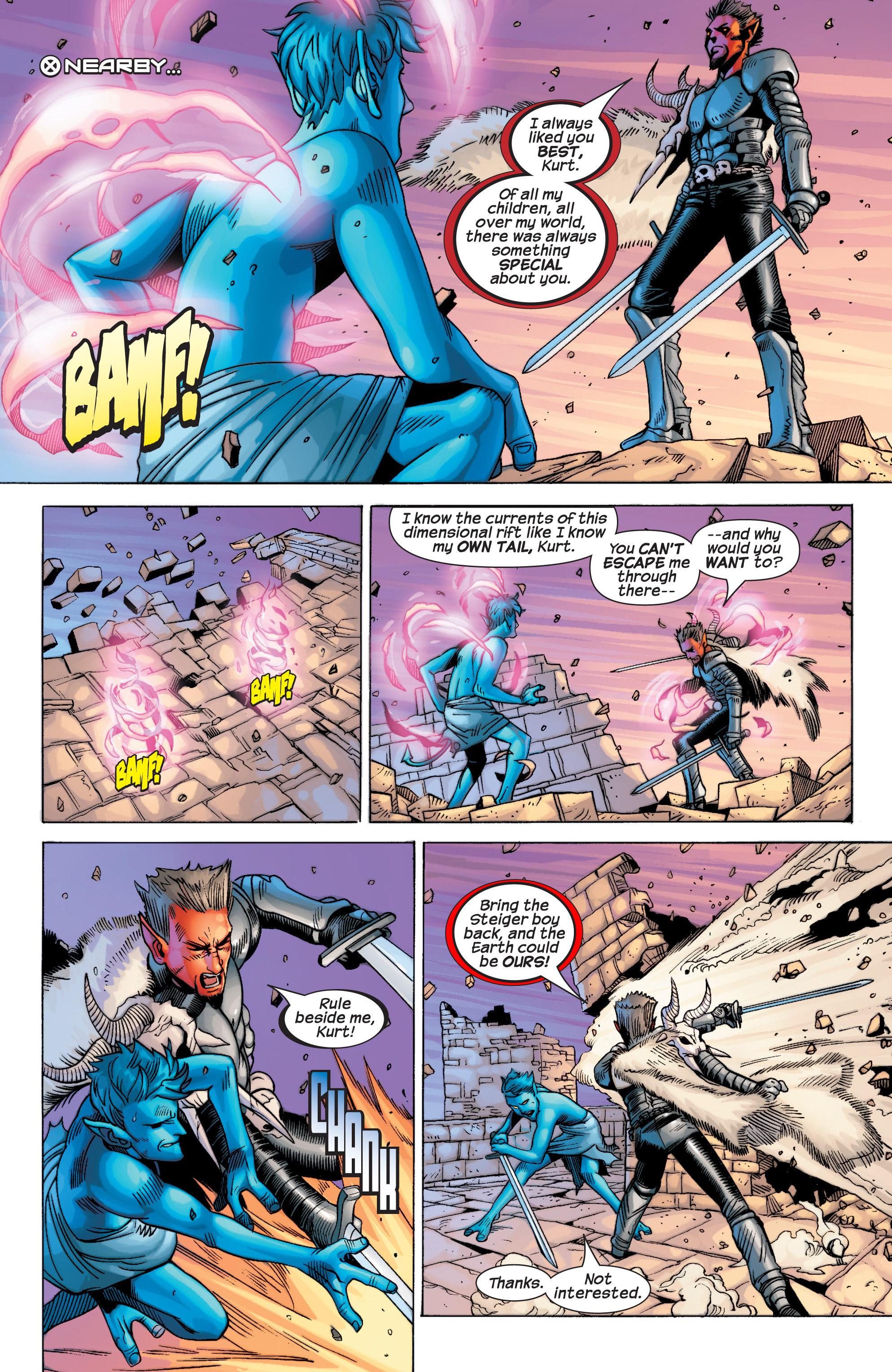 Read online Uncanny X-Men (1963) comic -  Issue #434 - 22