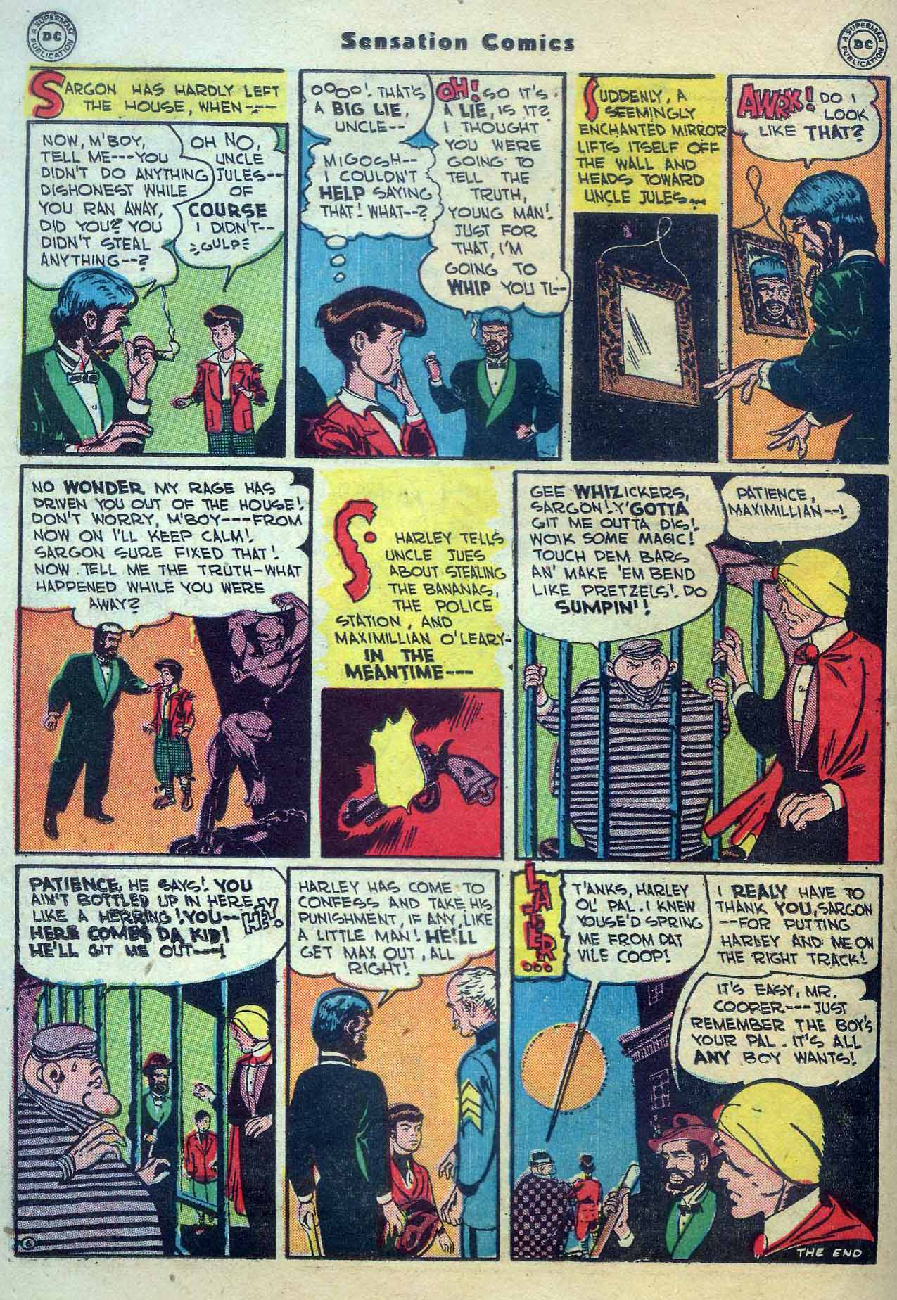Read online Sensation (Mystery) Comics comic -  Issue #56 - 30