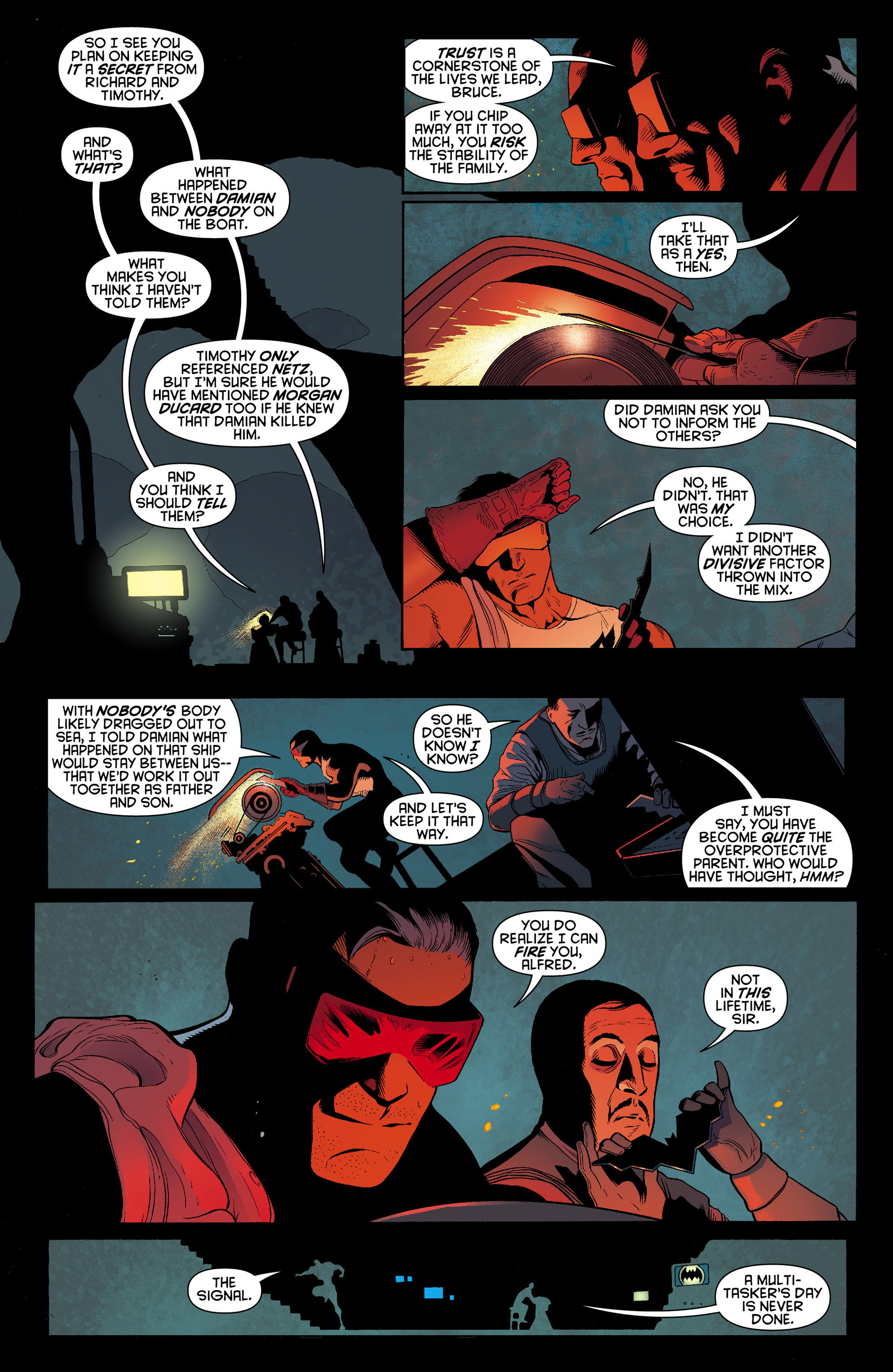 Read online Batman and Robin (2011) comic -  Issue #10 - 14