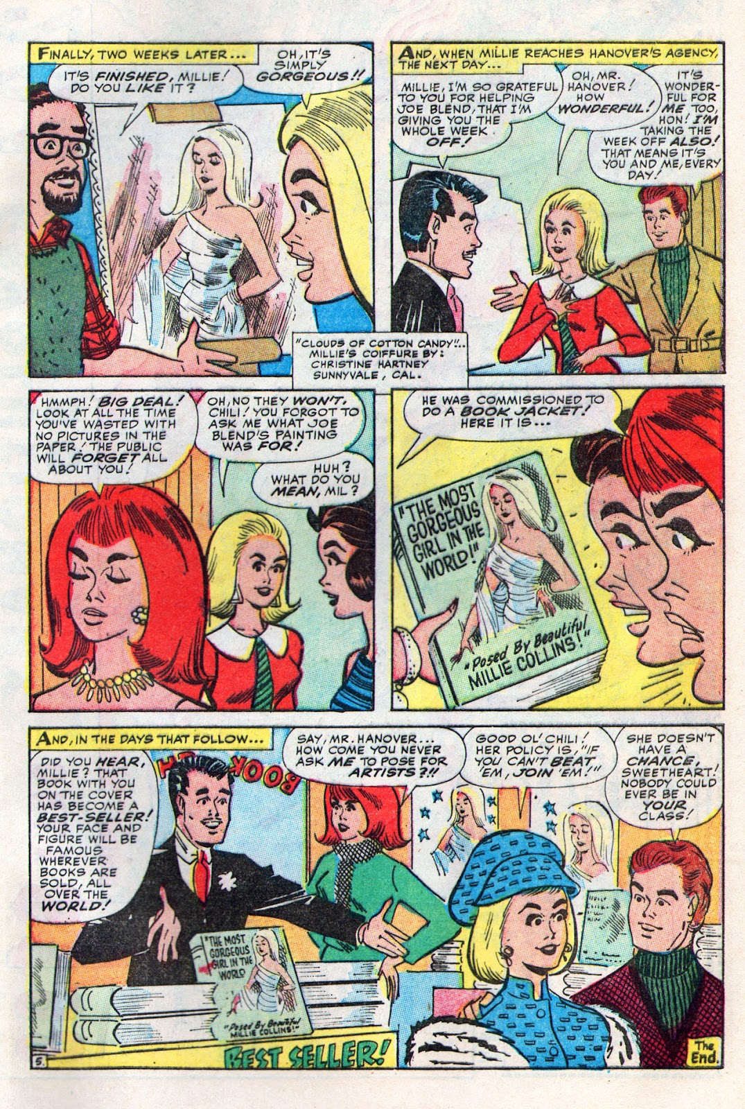 Read online Millie the Model comic -  Issue # Annual 6 - 65