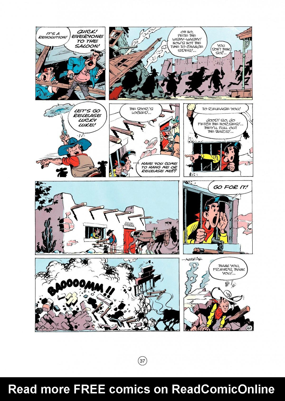 Read online A Lucky Luke Adventure comic -  Issue #27 - 38