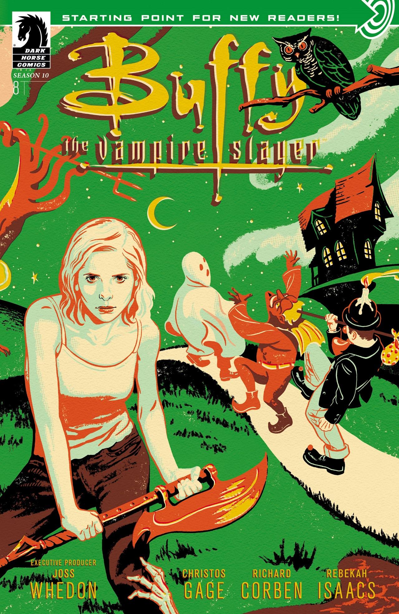 Buffy the Vampire Slayer Season Ten 8 Page 1