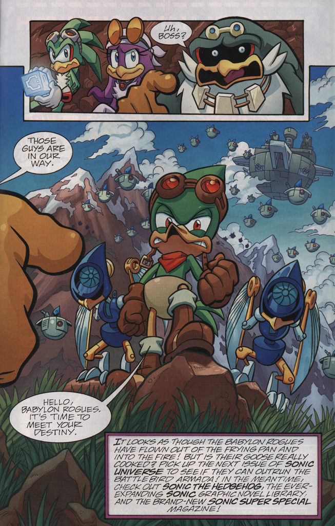 Read online Sonic Universe comic -  Issue #33 - 31