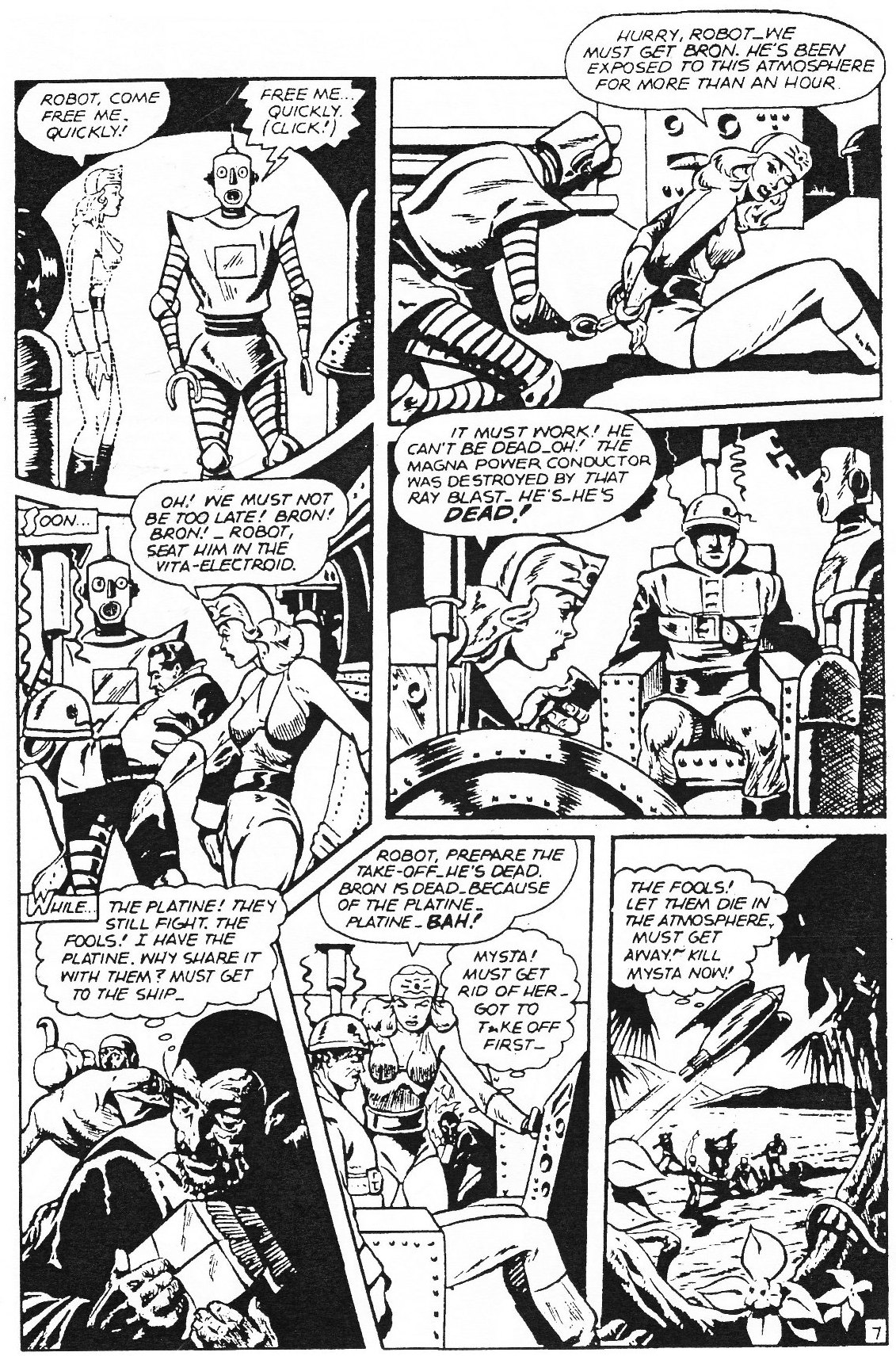 Read online Men of Mystery Comics comic -  Issue #82 - 86