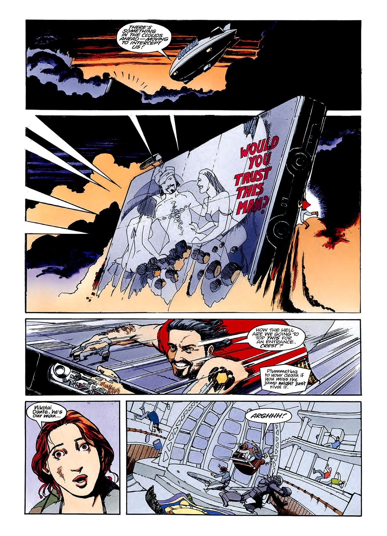 Read online Nikolai Dante comic -  Issue # TPB 3 - 111