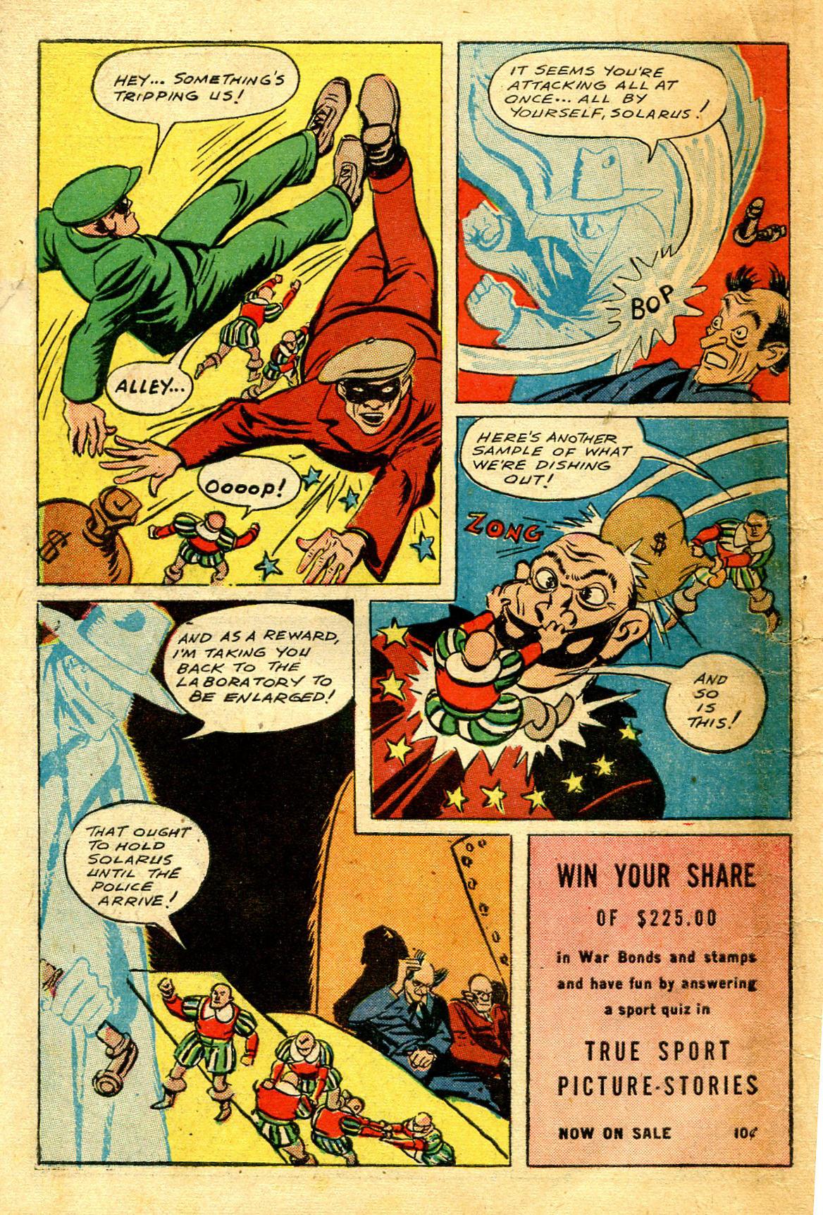 Read online Shadow Comics comic -  Issue #43 - 58