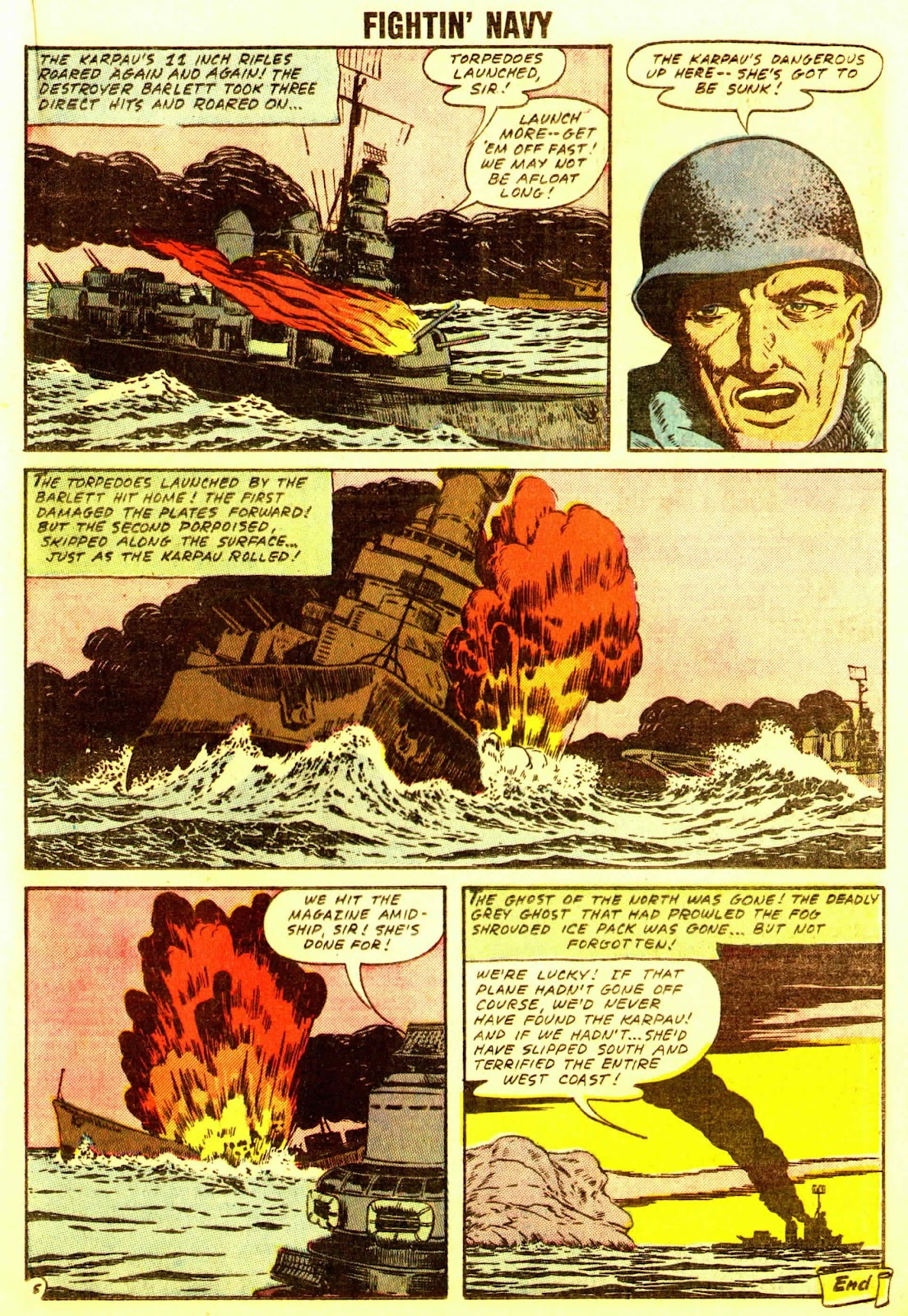 Read online Fightin' Navy comic -  Issue #83 - 41