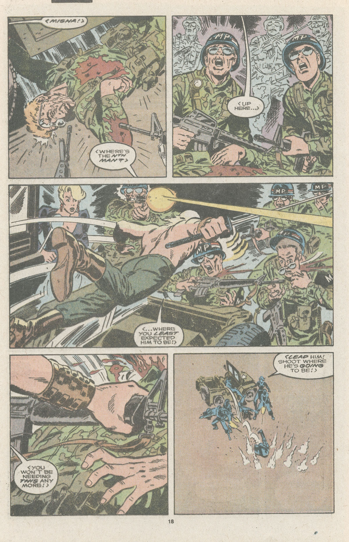 Read online Nth Man the Ultimate Ninja comic -  Issue #11 - 20