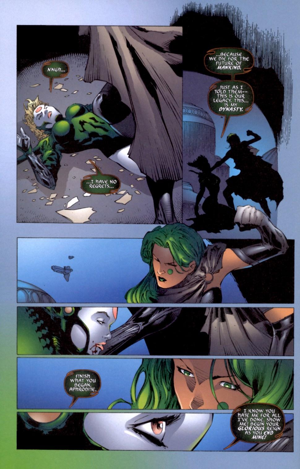 Read online Aphrodite IX (2000) comic -  Issue #4 - 36