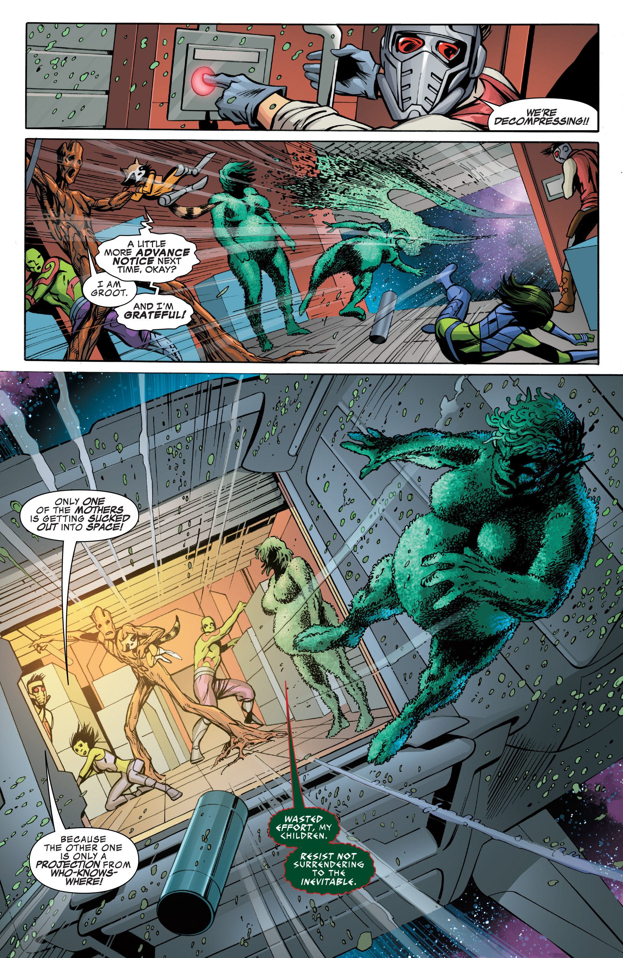 Read online Guardians of the Galaxy: Mother Entropy comic -  Issue #3 - 17