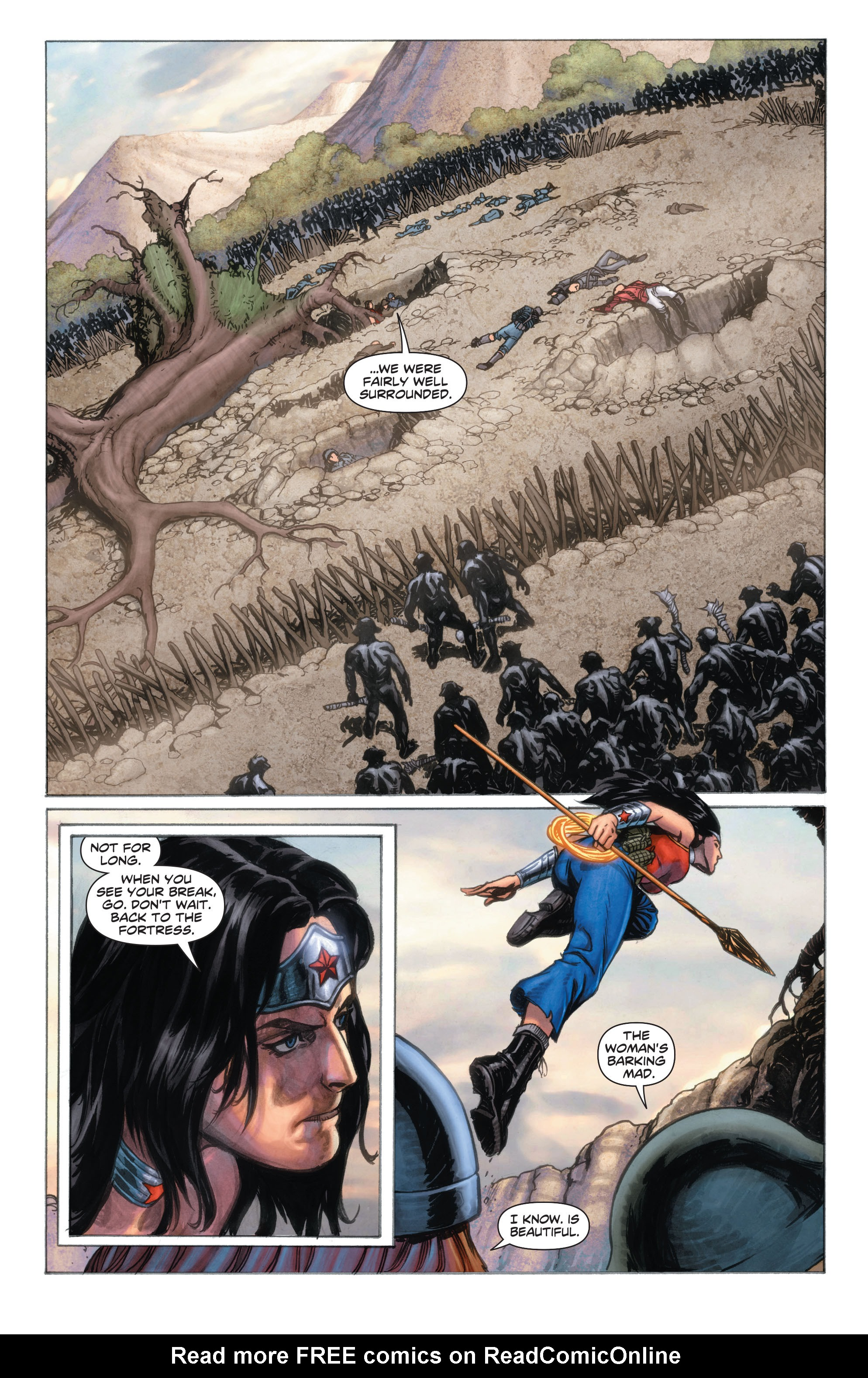 Read online Wonder Woman: Futures End comic -  Issue # Full - 5