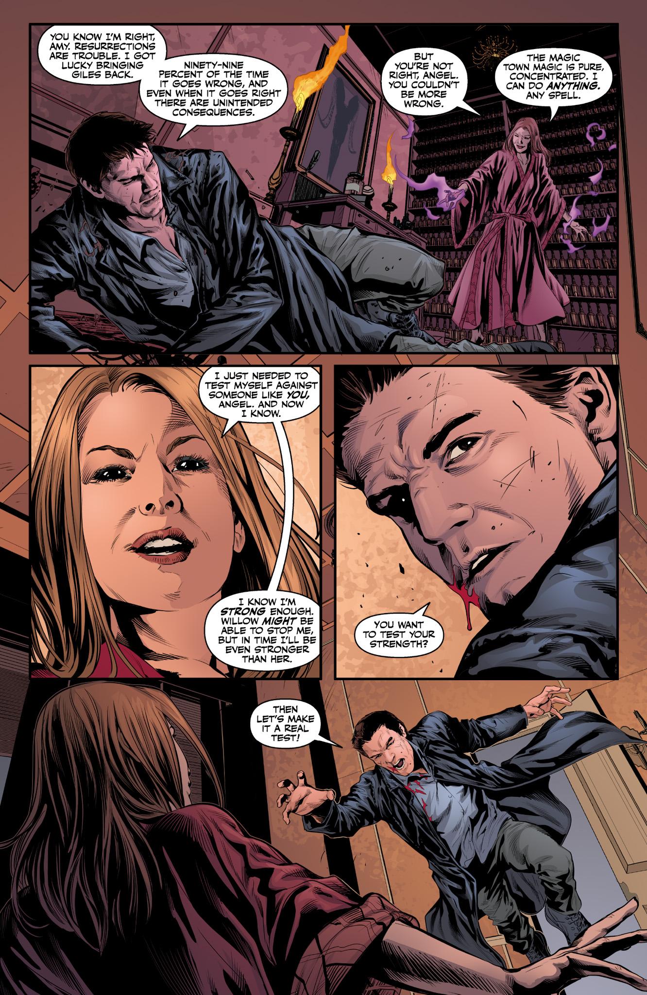 Read online Angel & Faith Season 10 comic -  Issue #9 - 4